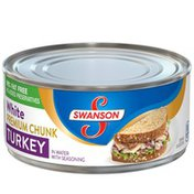 Swanson® White Premium Chunk Turkey in Water with Seasoning