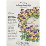 Botanical Interests Seeds, Viola, Johnny-Jump-Up