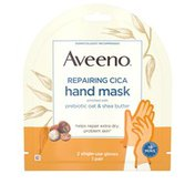 Aveeno Repairing Cica Hand Mask 2 Single-Use Gloves