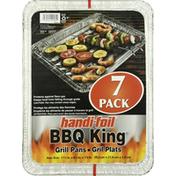 Handi-Foil Grill Pans, 7 Pack