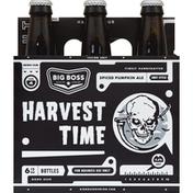 Big Boss Baking Company Ale, Spiced Pumpkin, Harvest Time