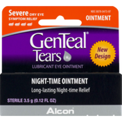GenTeal Tears Severe Dry Eye Relief Night-Time Ointment