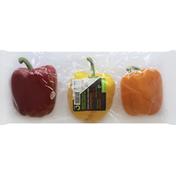 Redsun Peppers, Tri-color