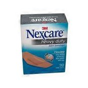 Nexcare Bandages, Heavy Duty, Flexible Fabric, One Size