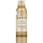 JERGENS Daily Moisturizer, Foaming, Fair to Medium Skin Tones