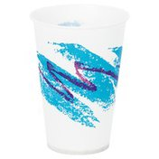 Solo Case Of 7 Oz Paper Cold Cup Jazz Design