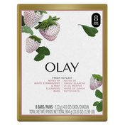 OLAY Notes Of Cooling White Strawberry & Mint Beauty Bar