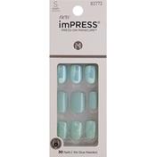 imPRESS Nails, Short Length, Rain Check KIM012