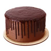 """7"""" Double Layer Chocolate Buttercream Iced Chocolate Cake"""