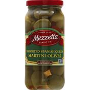 Mezzetta Martini Olives, Imported Spanish Queen