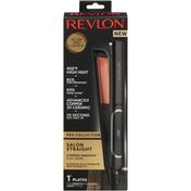 Revlon Flat Iron, Copper Smooth, Salon Straight, 1 Inch
