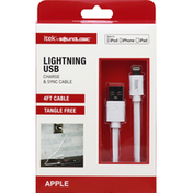 Itek Lightning USB, Charge & Sync Cable, Apple