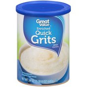 Great Value Enriched Quick White Hominy Grits