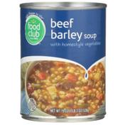 Food Club Beef Barley Soup