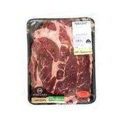 Double R Ranch USDA Choice Thin Boneless Beef Steak Value Pack