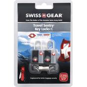 Swiss Gear Key Locks, Travel Sentry, Black