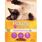 Paws Happy Life Chicken, Turkey, Salmon & Ocean Fish Mixed Formula Cat Food
