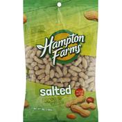 Hampton Farms Peanuts, Roasted, Salted