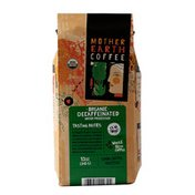 Mother Earth Coffee Decaffeinated Water Processed, Whole Bean Coffee