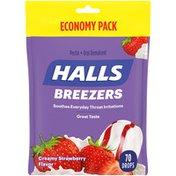 Halls Creamy Strawberry Drops