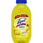 Lysol Multi-Surface Cleaner, Sparkling Lemon & Sunflower Essence Scent
