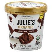 Julies Organic Ice Cream, Milk Chocolate