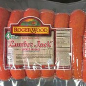 Roger Wood Foods Original Lumber Jack Smoked Sausage