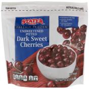 Stater Bros. Markets Freshly Frozen Unsweetened Pitted Dark Sweet Cherries