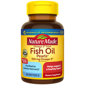 Nature Made Omega-3†† from Fish Oil 550 mg Softgels