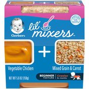 Gerber Vegetable Chicken with Mixed Grain & Carrot Baby Food