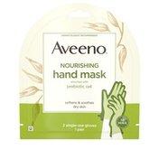 Aveeno Nourishing Hand Mask 2 Single-Use Gloves