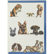 Caspari Boxed Notes, Dogs