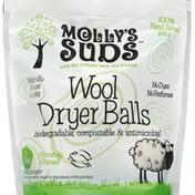 Mollys Suds Dryer Balls, Wool