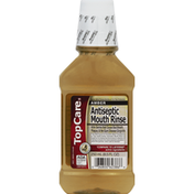 TopCare Mouth Rinse, Antiseptic, Amber