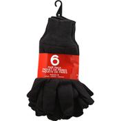 Boss Gloves, Large, 6 Pair Pack