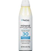 TopCare Sunscreen Continuous Spray, Mineral, Broad Spectrum SPF 30