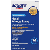 Equate Nasal Allergy Spray, Multi-Symptom