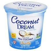 Coconut Dream Yogurt, Coconut Non-Dairy, Low Fat, Vanilla