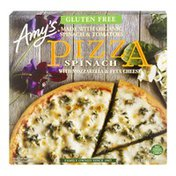 Amy's Kitchen Pizza Spinach With Mozzarella & Feta Cheese