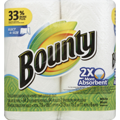 Bounty Paper Towels, Select-A-Size, White, 2-Ply