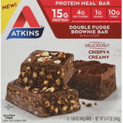 Atkins Protein Meal Bar, Double Fudge Brownie