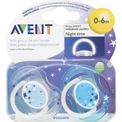 Avent Orthodontic Pacifiers Nighttime