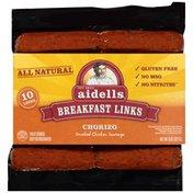 Aidells Chicken Chorizo Breakfast Link