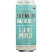Brew Dr. Kombucha Kombucha, Organic, Clear Mind