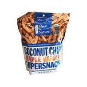 Made in Nature Organic Maple Vanilla Coconut Chips Supersnacks