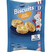 Pillsbury Garlic Cheddar Biscuits, 15 Count