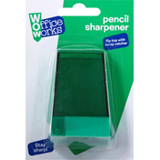 Office Works Pencil Sharpener With Catcher