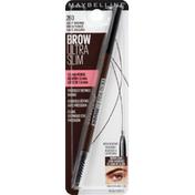 Maybelline Defining Pencil, Brow Ultra Slim, Deep Brown 260