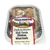 Chili Verde Chicken Meatballs