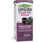 Nature's Way Umcka® Cold+Flu Elderberry Syrup